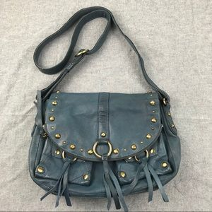 Lucky brand crossbody leather purse